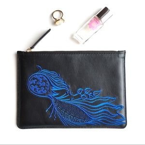 Creatures of the Wind leather Clutch/Pouch